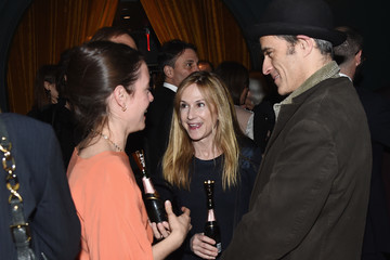 Holly Hunter Moet & Chandon Celebrates The Hudson Theatre Reopening With Jake Gyllenhaal & Annaleigh Ashford