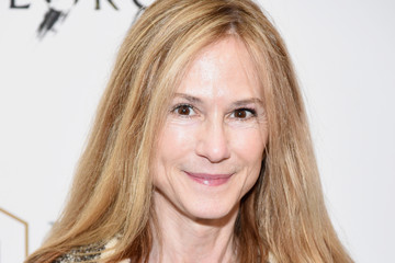 Holly Hunter 'Sunday in the Park With George' Broad Way Opening Night - Arrivals & Curtain Call
