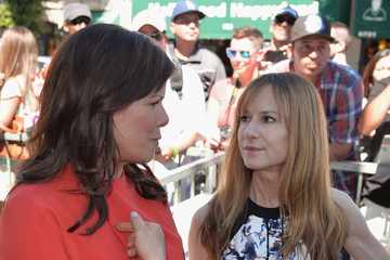 Holly Hunter Ed Harris Honored on the Walk of Fame