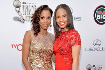 Holly Robinson Peete Ryan Elizabeth Peete 45th NAACP Image Awards Presented By TV One - Red Carpet