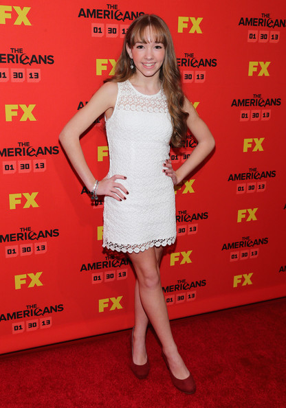Holly taylor holly taylor attends fx s quot the americans quot season one new