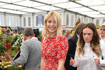 Holly Willoughby Chelsea Flower Show 2018 - Press Day
