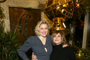 (L-R) Greta Gerwig and Amy Pascal attend the Hollywood Foreign Press Association and The Hollywood Reporter Celebration of the 2020 Golden Globe Awards Season and Unveiling of the Golden Globe Ambassadors at Catch on November 14, 2019 in West Hollywood, California.