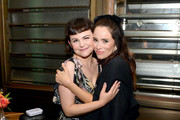 (L-R) Ginnifer Goodwin and Abigail Spencer attend the Hollywood Foreign Press Association and The Hollywood Reporter Celebration of the 2020 Golden Globe Awards Season and Unveiling of the Golden Globe Ambassadors at Catch on November 14, 2019 in West Hollywood, California.