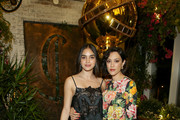 Melissa Barrera and Mishel Prada attend the Hollywood Foreign Press Association and The Hollywood Reporter Celebration of the 2020 Golden Globe Awards Season and Unveiling of the Golden Globe Ambassadors at Catch on November 14, 2019 in West Hollywood, California.