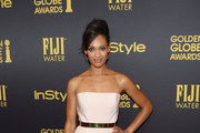 Actress Cynthia Addai-Robinson arrives at the Hollywood Foreign Press Association and InStyle celebrate the 2017 Golden Globe Award Season at Catch LA on November 10, 2016 in West Hollywood, California.