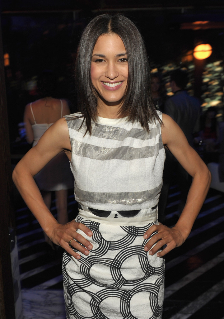 Julia Jones At Burberry Body Launch In Beverly Hills: The Hollywood Foreign Press