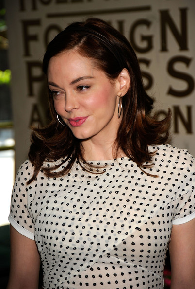 Actress Rose McGowan arrives at the Hollywood Foreign Press Association's installation luncheon held at the Beverly Hills Hotel on August 11, 2009 in Beverly Hills, California.
