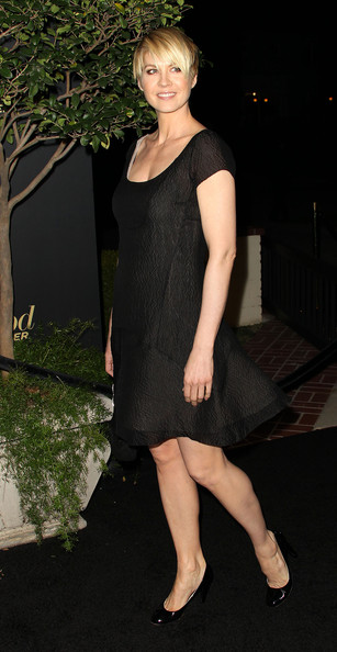 Actress Jenna Elfman attends The Hollywood Reporter's Nominees' Night Party at the Getty House on February 24, 2011 in Los Angeles, California.