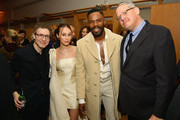 (L-R) Nicholas Britell, Alycia Debnam-Carey, Colman Domingo and Adam McKay attend The Hollywood Reporter's 7th Annual Nominees Night presented by Mercedes-Benz, Century Plaza Residences, and Heineken USA at CUT on February 4, 2019 in Beverly Hills, California.