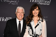 Dennis Basso and Carol Alt attend the The Hollywood Reporter's 9th Annual Most Powerful People In Media at The Pool on April 11, 2019 in New York City.