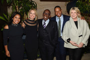 (L-R)  Sheinelle Jones, Dylan Dreyer, Al Roker Craig Melvin and Martha Stewart attend the Hollywood Reporter's Most Powerful People In Media 2018 at The Pool on April 12, 2018 in New York City.