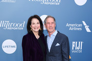 Sherry Lansing and Jon Feltheimer attend The Hollywood Reporter's Power 100 Women In Entertainment at Milk Studios on December 05, 2018 in Los Angeles, California.