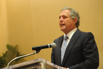 Leslie Moonves The Hollywood Reporter's Power Lawyer Breakfast