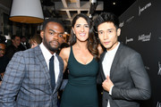 (L-R) William Jackson Harper, D'Arcy Carden and Manny Jacinto attend The Hollywood Reporter & SAG-AFTRA 3rd annual Emmy Nominees Night presented by Heineken and Anastasia Beverly Hills at Avra Beverly Hills Estiatorio on September 20, 2019 in Beverly Hills, California. (Photo by Amy Sussman/Getty Images for The Hollywood Reporter)William Jackson Harper