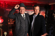 "John C. Reilly (L) and Will Ferrell attend the ""Holmes & Watson"" photo call at The London West Hollywood on December 14, 2018 in West Hollywood, California."