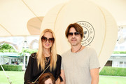 (L-R) Rachel Zoe, Skyler Morrison Berman, Kaius Jagger Berman, and Rodger Berman attend as the Honest Company and The GREAT. celebrate The GREAT Adventure on August 5, 2017 in East Hampton, New York.