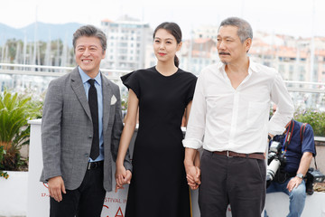 Hong Sangsoo 'The Day After (Geu Hu)' Photocall - The 70th Annual Cannes Film Festival