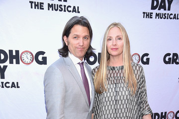 "Hope Davis ""Groundhog Day"" Broadway Opening Night - Arrivals & Curtain Call"