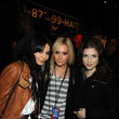 She hangs out backstage with Anna Kendrick and Vanessa Hudgens.