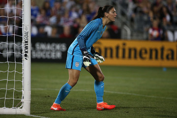 Hope Solo Japan v United States Match