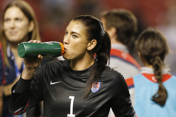 Hope Solo Mexico v United States