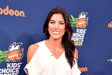 Hope Solo Nickelodeon Kids' Choice Sports Awards 2015 - Red Carpet