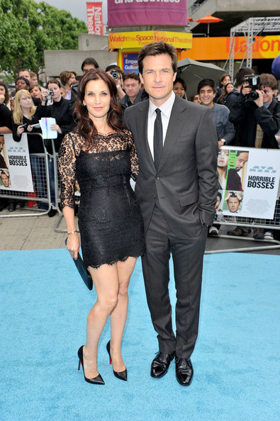 "Actor Jason Bateman (R) and Amanda Anka attend the UK film premiere of ""Horrible Bosses"" at BFI Southbank on July 20, 2011 in London, England."