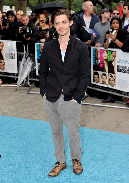 "Actor Tom Payne attends the UK film premiere of ""Horrible Bosses"" at BFI Southbank on July 20, 2011 in London, England."