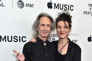 """Lenny Kaye and Jesse Smith attend """"Horses: Patti Smith and Her Band"""" - 2018 Tribeca Film Festival at Beacon Theatre on April 23, 2018 in New York City."""