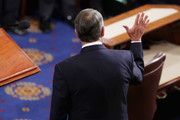 Outgoing Speaker of the House John Boehner (R-OH) waves after he gave his farewell speech in the House Chamber of the U.S. Capitol October 29, 2015 in Washington, DC. Rep. Paul Ryan (R-WI) was elected the 62nd speaker of the House with 236 votes and will attempt to steer that chaotic legislative body following Boehner's resignation.