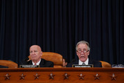 House Ways and Means Committee Chairman Kevin Brady (R-TX) (L) and ranking member Rep. Richard Neal (D-MA) deliver opening remarks during the first markup hearing of the proposed GOP tax reform legislation in the Longworth House Office Building on Capitol Hill November 6, 2017 in Washington, DC. President Donald Trump said that he wants to sign new tax cuts into law before the end of the year.