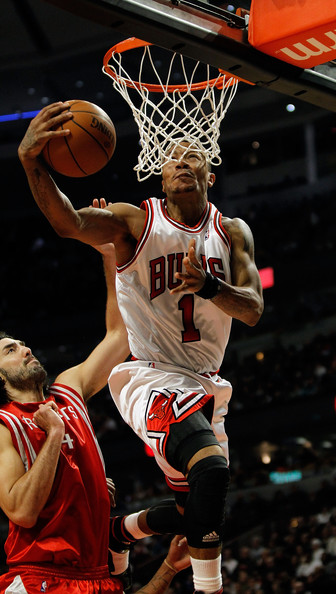 derrick rose bulls. Derrick Rose #1 of the Chicago