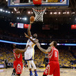 James Harden Festus Ezeli Photos