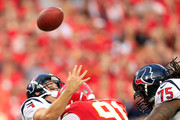 Tamba Hali Case Keenum Photos Photo