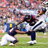 Jelani Jenkins Photos - Robert Woods #17 of the Los Angeles Rams eludes the tackle of Johnathan Joseph #24 and Jelani Jenkins #44 of the Houston Texans at Los Angeles Memorial Coliseum on November 12, 2017 in Los Angeles, California. - Houston Texans v Los Angeles Rams