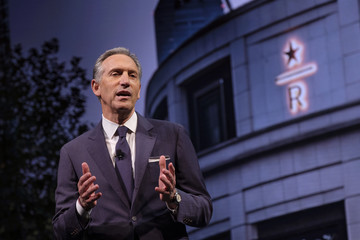 Howard Schultz Starbucks Holds Annual Shareholders Meeting