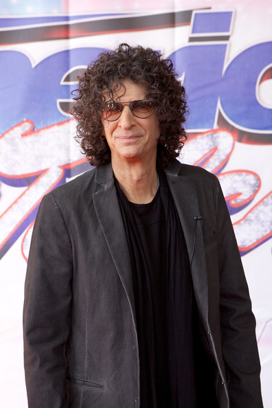 Howard Stern attends 'America's Got Talent' season 8 meet the judges