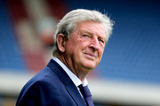 Roy Hodgson, Manager of Crystal Palace looks on ahead of the Premier League match between Huddersfield Town and Crystal Palace at John Smith's Stadium on September 15, 2018 in Huddersfield, United Kingdom.