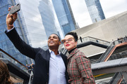 Don Lemon and Debi Mazar attend Hudson Yards, New York's Newest Neighborhood, Official Opening Event on March 15, 2019 in New York City.