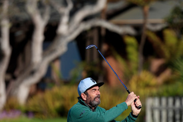 Huey Lewis AT&T Pebble Beach Pro-Am - Round One