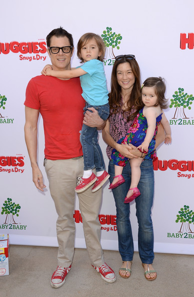 Family photo of the actor, married to Naomi Nelson, famous for Wildboyz & Nitro Circus.
