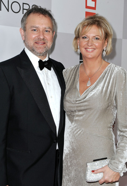 Hugh Bonneville with cool, Wife Lulu Evans