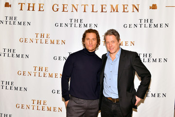 Hugh Grant NY Photo Call For 'The Gentlemen'
