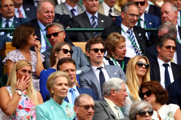 Hugh Grant Day Thirteen: The Championships - Wimbledon 2017
