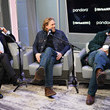 Hugh Grant Andy Cohen Sits Down With The Cast Of 'The Gentlemen' On His SiriusXM Channel Radio Andy