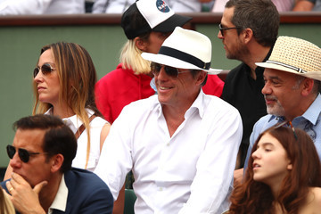 Hugh Grant 2018 French Open - Day Fifteen