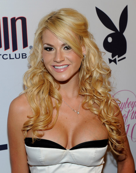 Shannon James in Hugh Hefner Introduces 2010 Playboy