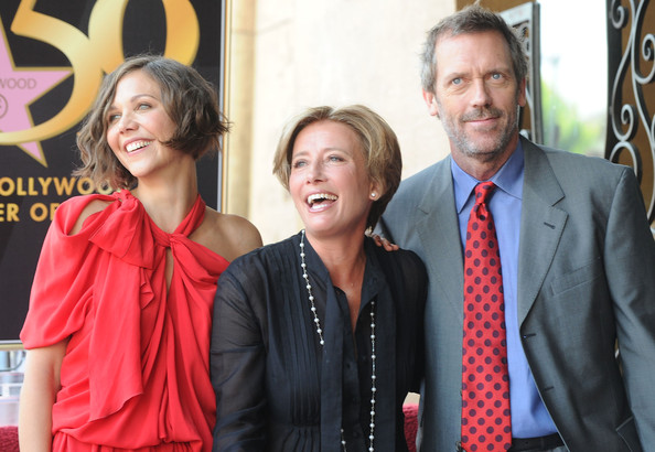 Emma Thompson Honored On The Hollywood Walk Of Fame