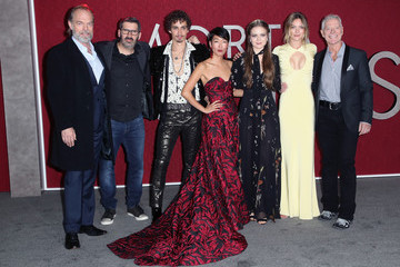 Hugo Weaving Christian Rivers Premiere Of Universal Pictures' 'Mortal Engines' - Arrivals